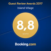 Guest Review Awards 2017, 8.8 out of 10 via Booking.com